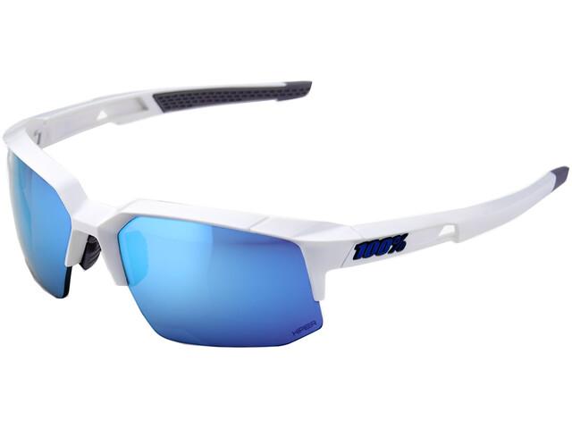 100% Speedcoupe HD Multilayer Hiper Glasses Matte White